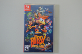Switch Bubsy Paws on Fire Limited Edition