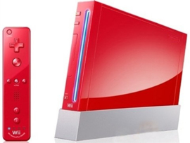 Nintendo Wii Console + Wii Motion Plus (Rood)