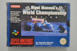SNES Nigel Mansell's World Championship Racing [Compleet]