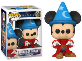 Disney Fantasia 80th Funko Pop - Sorcerer Mickey #990 [Nieuw]