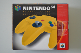 N64 Controller Yellow [Compleet]