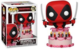 Marvel Deadpool Funko Pop Deadpool in Cake #776 [Nieuw]