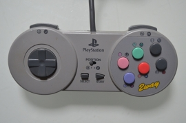 Playstation 1 Controller Fighting Commander 2Way (HPS-8) - Hori