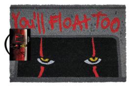 IT Pennywise Deurmat You'll Float Too - Pyramid International [Nieuw]