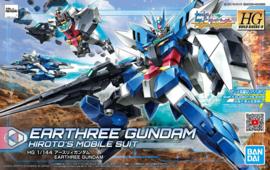Gundam Model Kit HG 1/144 Earthree Gundam Hiroto's Mobile Suit - Bandai [Nieuw]
