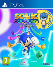 Ps4 Sonic Colours Ultimate Day One Edition + Bonus [Pre-Order]