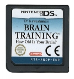 DS Brain Training (Dr. Kawashima's Brain Training) (Cart Only)