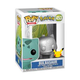 Pokemon Funko Pop - Bulbasaur Silver Metallic #453 [Pre-Order]