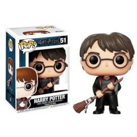 Harry Potter Funko Pop - Harry Potter with Firebolt Exclusive #051 [Nieuw]