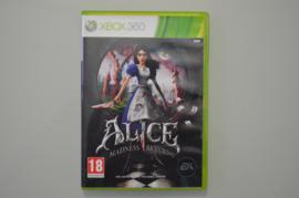 Xbox 360 Alice Madness Returns