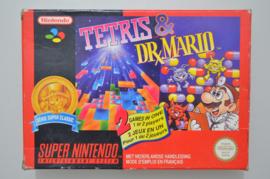 SNES Tetris & Dr. Mario [Compleet]
