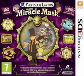 3DS Professor Layton en het Masker der Wonderen [Nieuw]