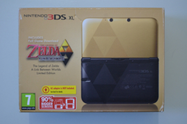 Nintendo 3DSXL Console (Zelda Limited Edition) + Zelda A Link Between Worlds [Compleet]