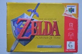 N64 The Legend of Zelda Ocarina of Time Collectors Edition