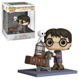 Harry Potter 20th Anniversary Funko Pop Deluxe Harry Potter Pushing Trolley #135 [Pre-Order]