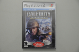 Ps2 Call of Duty Finest Hour (Platinum)