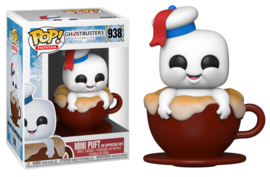 Ghostbusters Afterlife Funko Pop Mini Puft In Cappuccino Cup #938 [Pre-Order]