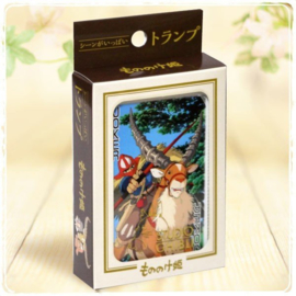 Princess Mononoke Playing Cards - Studio Ghibli