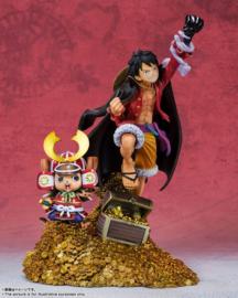 One Piece Figure Monkey D. Luffy FiguartsZERO Diorama 100th Anniversary of WT100 (1/3) - Banpresto [Pre-Order]
