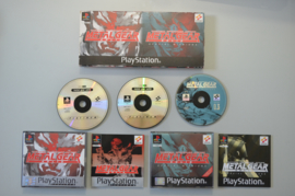 Ps1 Metal Gear Solid + Special Missions Twin Pack