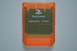 Playstation 1 Memory Card Oranje (1MB) - Sony