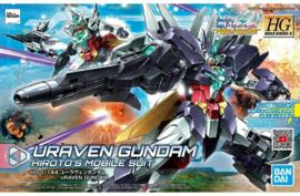 Gundam Model Kit HG 1/144 Uraven Gundam Hiroto's Mobile Suit - Bandai [Nieuw]