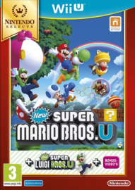 Wii U New Super Mario Bros U + New Super Luigi U (Nintendo Selects) [Nieuw]