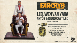 Far Cry 6 Figure Anton & Diego Castillo - Leeuwen van Yara - Ubisoft [Nieuw]