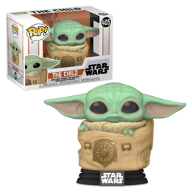 Star Wars Funko Pop - The Mandalorian The Child With Bag (Baby Yoda) #406 [Pre-Order]