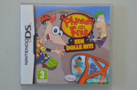 DS Phineas and Ferb Een Dolle Rit
