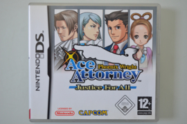 DS Ace Attorney Justice For All - Phoenix Wright