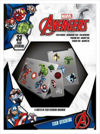 Marvel Avengers Tech Stickers - Pyramid International