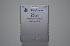 Playstation 2 Memory Card Zilver (8MB) - Sony