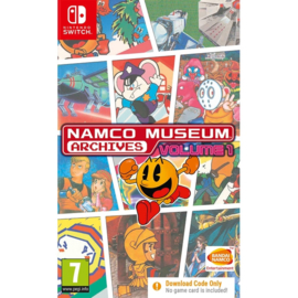 Switch Namco Museum Archives Volume 1 (Code in a Box) [Pre-Order]