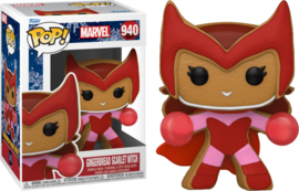 Marvel Holiday Funko Pop Gingerbread Scarlet Witch #940 [Pre-Order]