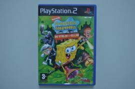 Ps2 SpongeBob en de Nickelodeon Helden De Strijd tegen Slijm