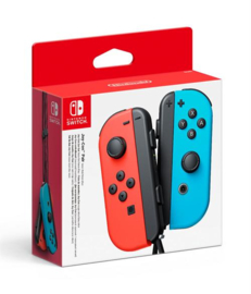 Nintendo Switch Joy-Con Controller Pair (Neon Red/Blue) [Nieuw]