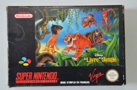 SNES Disney The Jungle Book / Le Livre De La Jungle  [Compleet]