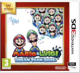 3DS Mario and Luigi Dream Team Bros (Nintendo Selects) [Nieuw]