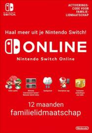 12 Maanden Switch Online Familie Abonnement (365 Dagen)