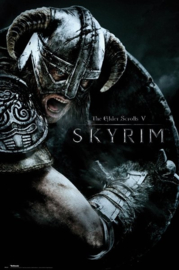 Skyrim Poster Attack (61x91cm) - Pyramid International