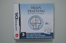 DS Brain Training How Old Is Your Brain (Dr. Kawashima's Brain Training)