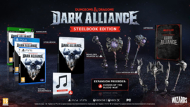 Ps4 Dungeons & Dragons Dark Alliance Steelbook Edition [Pre-Order]