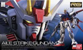 Gundam Model Kit HG 1/144 Aile Strike Gundam OMNI Enforcer Mobile Suit GAT-X 105 - Bandai [Nieuw]