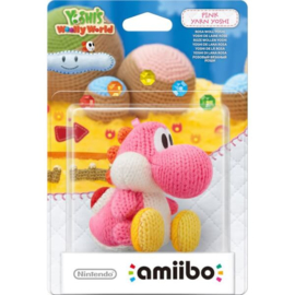 Amiibo Yarn Yoshi Pink - Yoshi's Woolly World [Nieuw]