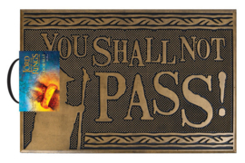 Lord of The Rings Deurmat You Shall Not Pass - Pyramid International [Nieuw]