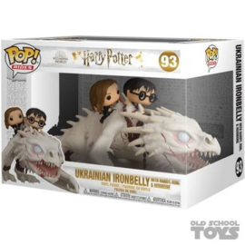 Harry Potter Funko Pop Rides - Ukrainian Ironbelly with Harry, Ron & Hermione 093 [Nieuw]
