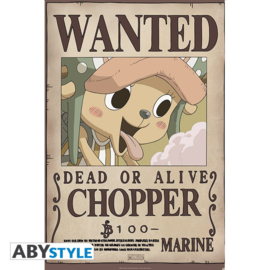 One Piece Poster Wanted Chopper (61x91cm) - ABYStyle