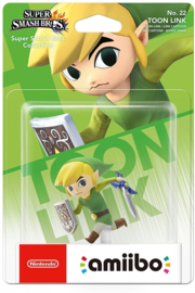 Amiibo Link The Wind Waker (Toon Link)  - Super Smash Bros [Nieuw]