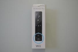 Nintendo Wii Mote + Motion Plus - Zwart [Compleet]